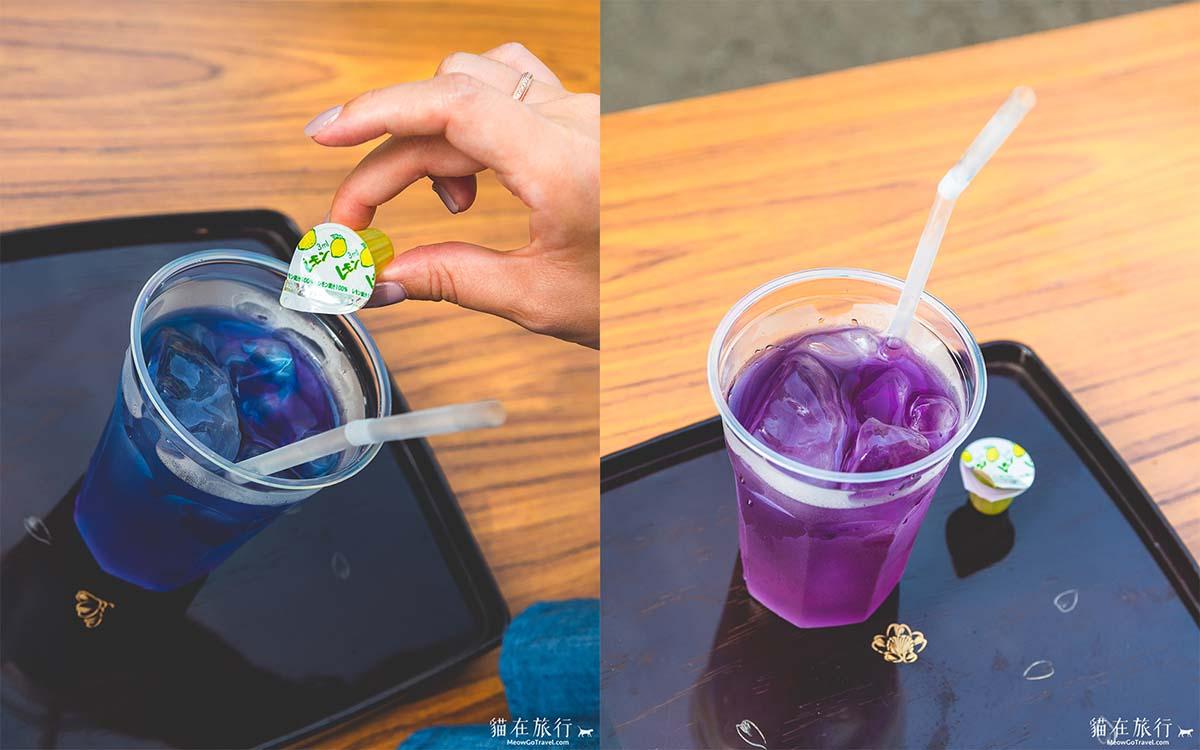 雲昌寺 - 變色的紫陽花茶