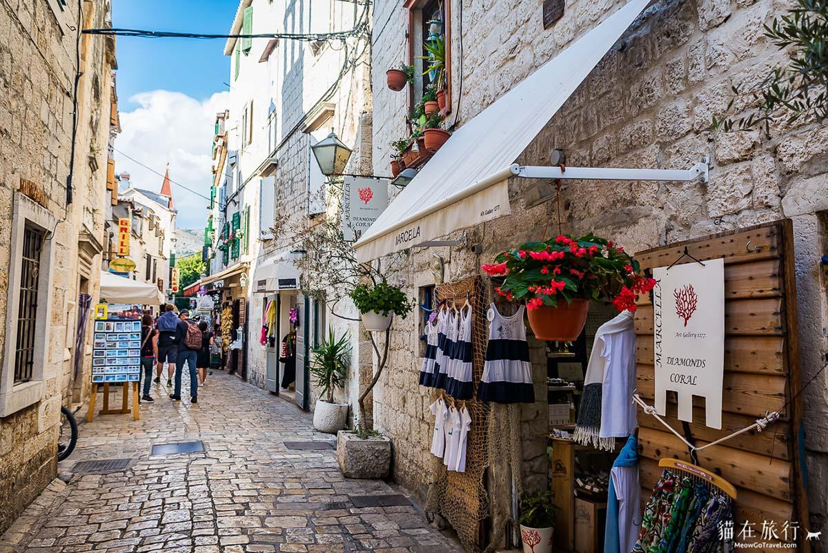 street-Trogir-Croatia